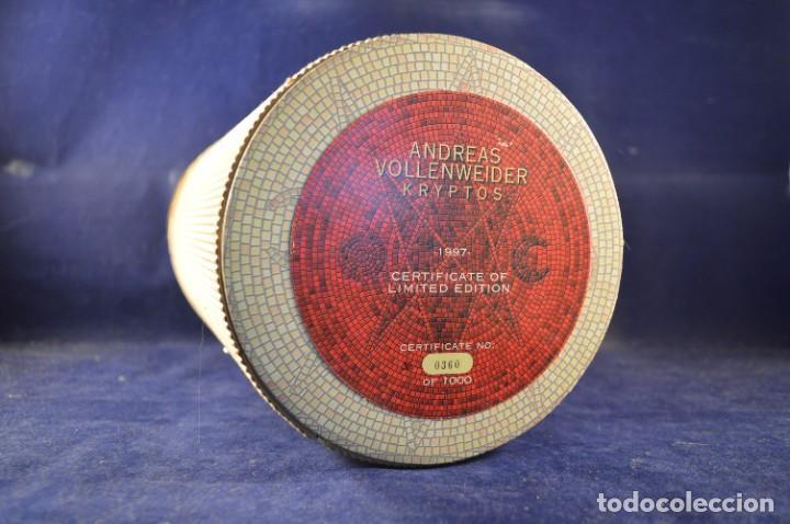 CDs de Música: ANDREAS VOLLENWEIDER - KRYPTOS (EDICIÓN LIMITADA NO. 360 DE 1000) - CD + VHS - Foto 2 - 270596748
