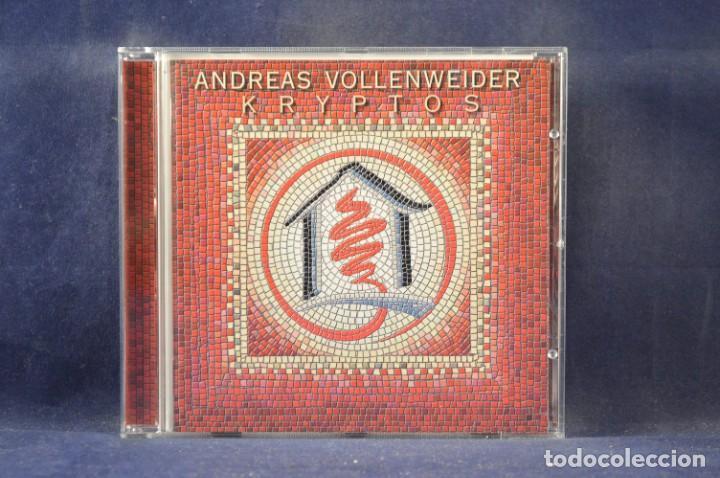 CDs de Música: ANDREAS VOLLENWEIDER - KRYPTOS (EDICIÓN LIMITADA NO. 360 DE 1000) - CD + VHS - Foto 4 - 270596748