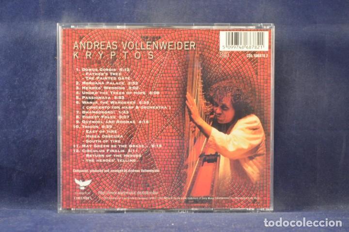CDs de Música: ANDREAS VOLLENWEIDER - KRYPTOS (EDICIÓN LIMITADA NO. 360 DE 1000) - CD + VHS - Foto 5 - 270596748