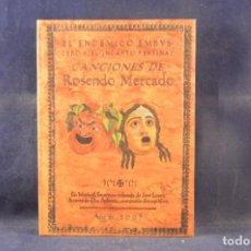 CDs de Música: ROSENDO - EL ENDÉMICO EMBUSTERO, Y EL INCAUTO PERTINAZ - CD LIBRO. Lote 270611288