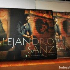 CDs de Música: ALEJANDRO SANZ EL TREN DE LOS MOMENTOS CD ALBUM CON SOBRECUBIERTA 2006 CONTIENE 10 TEMAS. Lote 270626973