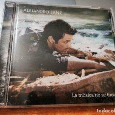CDs de Música: ALEJANDRO SANZ LA MUSICA NO SE TOCA CD ALBUM DEL AÑO 2012 CONTIENE 13 TEMAS. Lote 270628528