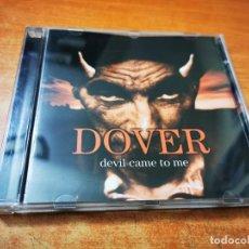 CDs de Música: DOVER DEVIL CAME TO ME CD ALBUM DEL AÑO 1997 ESPAÑA CONTIENE 12 TEMAS CRISTINA LLANOS RARO. Lote 270640348
