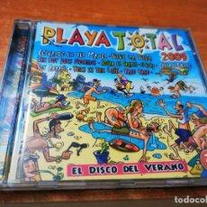 CDs de Música: PLAYA TOTAL 2009 CD ALBUM XTC PLANET DJ IN THE NIGHT EL KISKY GABRIELA CONTIENE 20 TEMAS. Lote 270642293