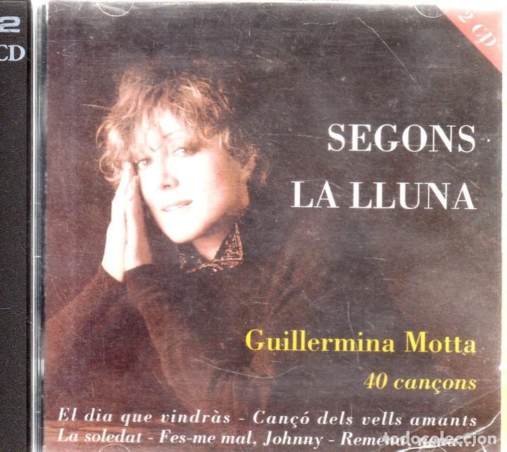 VESIV CD DOBLE GUILLERMINA MOTTA SEGONS LA LLUNA 40 CANÇONS (Música - CD's Otros Estilos)