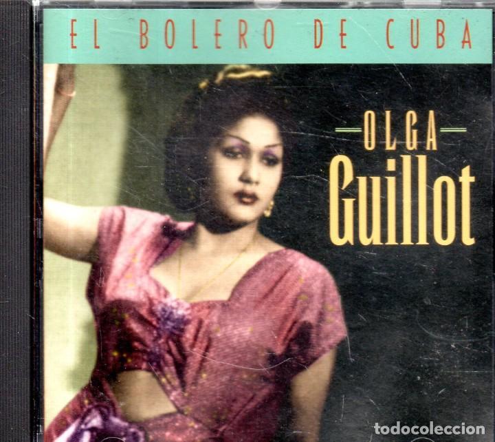VESIV CD OLGA GUILLOT EL BOLERO DE CUBA (Música - CD's Otros Estilos)