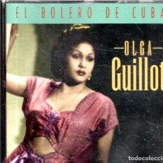 CDs de Música: VESIV CD OLGA GUILLOT EL BOLERO DE CUBA. Lote 270664528
