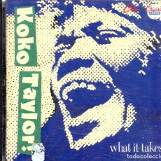 CDs de Música: VESIV CD KOKO TAYLOR WHAT IT TAKES THE CHESS YEARS. Lote 270664593