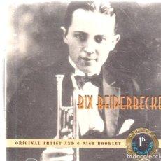 CDs de Música: VESIV CD BIX BEIDERBECKE. Lote 270664658