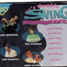 CDs de Música: VESIV CD DOBLE IT'S DOUBLE SWING TIME. Lote 270665268