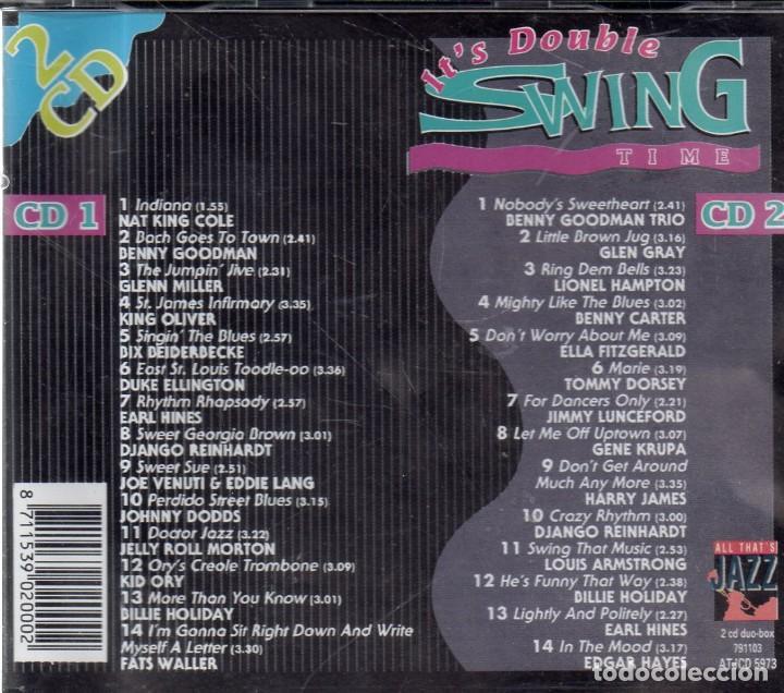 CDs de Música: VESIV CD DOBLE ITS DOUBLE SWING TIME - Foto 2 - 270665268