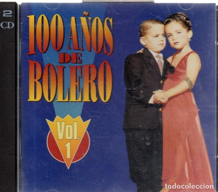 VESIV CD DOBLE 100 AÑOS DE BOLERO VOL 1 (Música - CD's Otros Estilos)