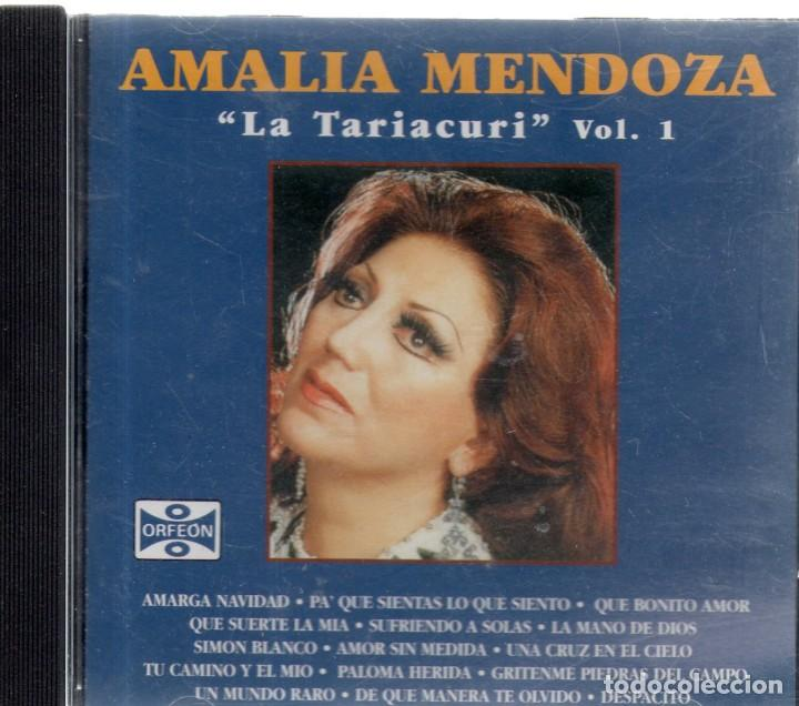 VESIV CD CD AMALIA MENDOZA LA TARIACURI VOL 1 (Música - CD's Otros Estilos)
