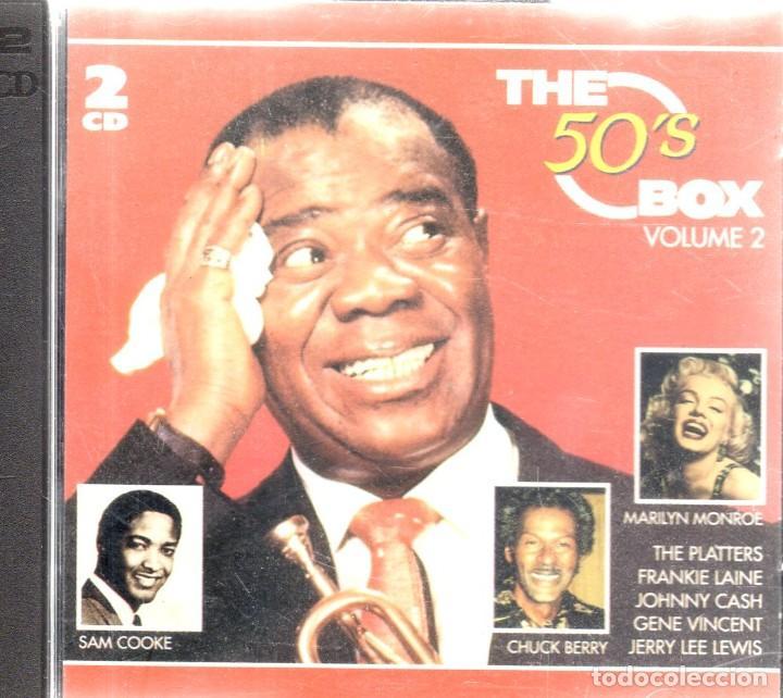 VESIV CD DOBLE THE 50'S BOX VOLUMEN 2 (Música - CD's Otros Estilos)