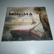 CDs de Música: LA ISLA MINIMA CD BANDA SONORA ORIGINAL NUEVA PRECINTADA JULIO DE LA ROSA ALBERTO RODRIGUEZ. Lote 270897023