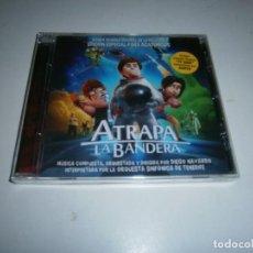 CDs de Música: ATRAPA LA BANDERA CD BANDA SONORA ORIGINAL ED. ESPECIAL ACADEMICOS DIGO NAVARRO NUEVA PRECINTADA. Lote 270897358