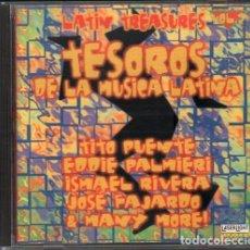 CDs de Música: LATIN TREASURES VOL. 2 - TESOROS DE LA MUSICA LATINA / CD ALBUM DE 1996 / MUY BUEN ESTADO RF-1010. Lote 270904588
