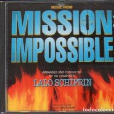 CDs de Música: MISSION IMPOSIBLE - BANDA SONORA ORIGINAL - LALO SCHIFRIN / CD ALBUM 1996 RF-10130. Lote 270910303