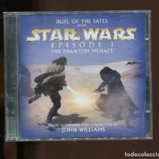 CDs de Música: STAR WARS EPISODE I DUEL OF THE FATES. THE PHANTOM MENACE. JOHN WILLIAMS. CD. Lote 270917673