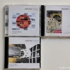 CDs de Música: MUSICA LIBRERIA -SELECT SOUND 3 CDS,. Lote 270920233