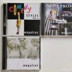 CDs de Música: MUSICA LIBRERIA MEGATRAX , 3 CDS. Lote 270920673