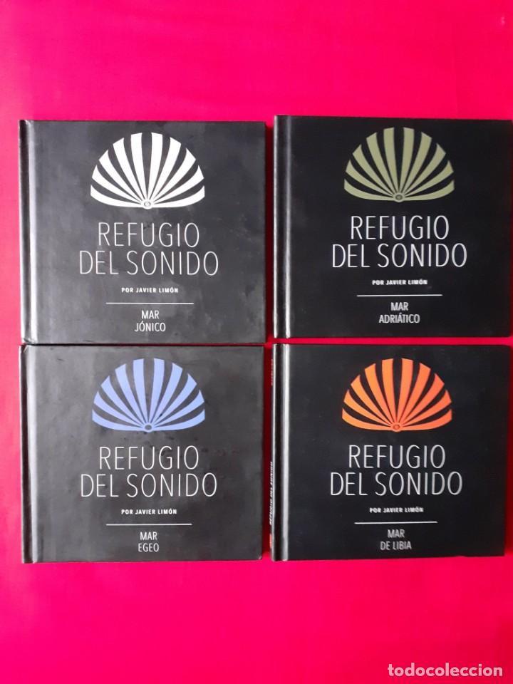 REFUGIO DEL SONIDO. JAVIER LIMON. MAR ADRIATICO, EGEO, JONICO, LIBIA. EL PAIS 4 CDS COMPLETA (Música - CD's World Music)