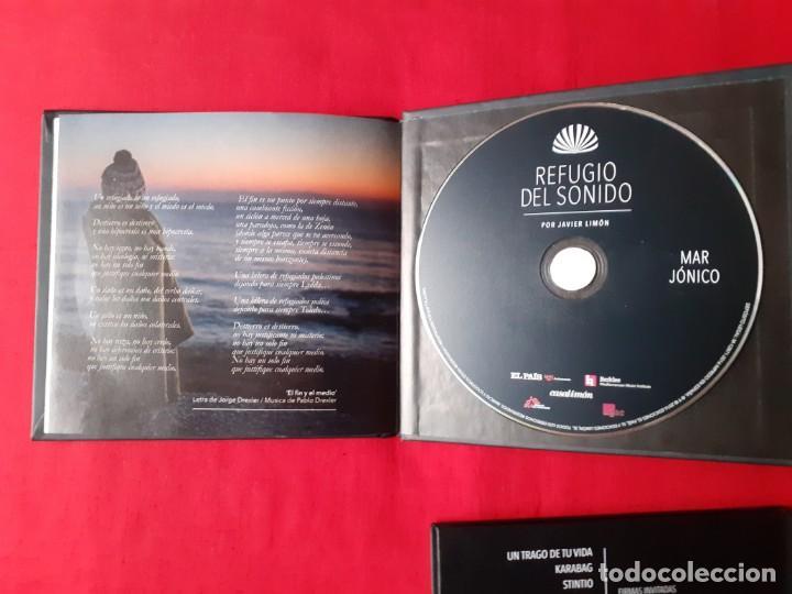 CDs de Música: REFUGIO DEL SONIDO. JAVIER LIMON. MAR ADRIATICO, EGEO, JONICO, LIBIA. EL PAIS 4 CDS COMPLETA - Foto 3 - 270960368