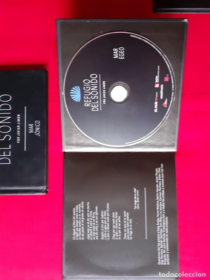 CDs de Música: REFUGIO DEL SONIDO. JAVIER LIMON. MAR ADRIATICO, EGEO, JONICO, LIBIA. EL PAIS 4 CDS COMPLETA - Foto 4 - 270960368