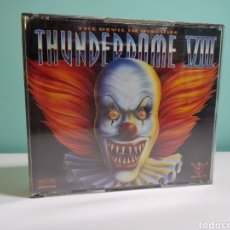CDs de Música: THUNDERDOME VIII - THE DEVIL UN DISGUISE - 1995. Lote 270962078