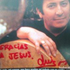CDs de Música: ¡ 2 VECES DEDICADO ! - LUIS DELGADO - EL SUEÑO DE AL-ZAQQAQ (NUBENEGRA, 1997). Lote 270995213