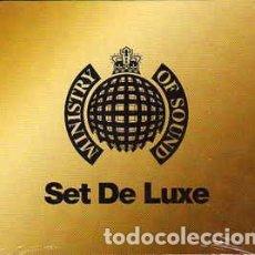 CDs de Música: VARIOUS - SET DE LUXE (BOX + 2XCD, COMP + CD, COMP, MIXED) LABEL:VALE MUSIC, TANGA RECORDS, MINISTR. Lote 270995978