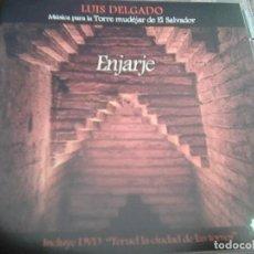CDs de Música: LUIS DELGADO - ENJARJE (MUSEO DE LA MÚSICA-TORRE MUDEJAR, 2014) + DVD DOCUMENTAL - ¡ FIRMADO !. Lote 270997683