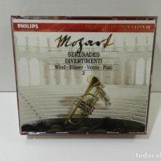 CDs de Música: DISCO 3 X CD. MOZART – SERENADES AND DIVERTIMENTI FOR WIND VOL. 2. COMPACT DISC.. Lote 270998668