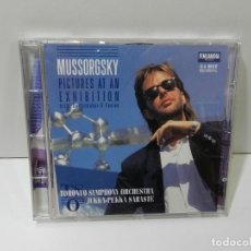 CDs de Música: DISCO CD. MUSSORGSKY – PICTURES AT AN EXHIBITION. COMPACT DISC.. Lote 270999433