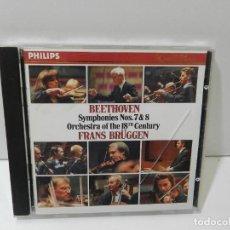 CD de Música: DISCO CD. BEETHOVEN – SYMPHONIES NOS. 7 & 8. COMPACT DISC.. Lote 271000703