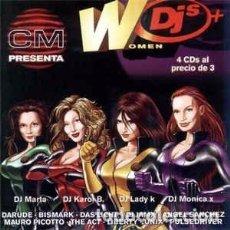 CDs de Música: DJ MARTA / DJ KAROL B.* / DJ LADY K* / DJ MONICA X* - WOMEN DJS (4XCD, COMP, MIXED) LABEL:STAR-LUXE. Lote 271001558