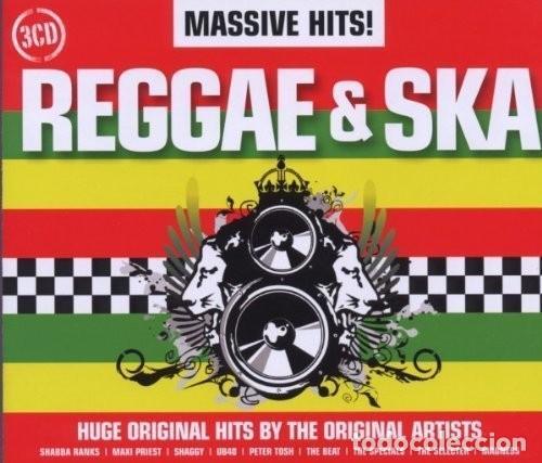 MASSIVE HITS! REGGAE & SKA / BOX 3 CD * CAJA PRECINTADA (Música - CD's Reggae)