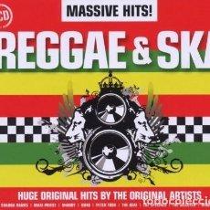 CDs de Música: MASSIVE HITS! REGGAE & SKA / BOX 3 CD * CAJA PRECINTADA. Lote 271048223