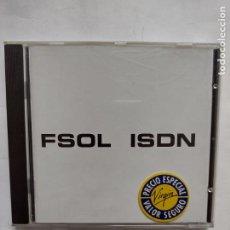 CDs de Música: FSOL - ISDN - FUTURE SOUND OF LONDON - ELECTRONIC BRAIN VIOLENCE RECORDS - CD 1994-1995. Lote 271090513