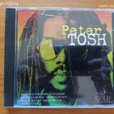 CD de Música: CD PETER TOSH - THE GOLD COLLECTION (ET). Lote 271096203