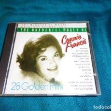 CDs de Música: THE WONDERFUL WORLD OF CONNIE FRANCIS. CD.. Lote 271373613