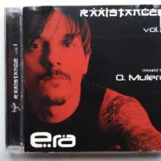 CDs de Música: ÓSCAR MULERO. RXXISTANCE VOL 1 ERA. CD RXXI CD 002. ESPAÑA 2000. JEFF MILLS. AUTECHE. OLIVER HO.. Lote 271376493