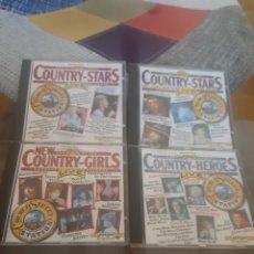 CDs de Música: 4 CD MÚSICA COUNTRY. Lote 271382498