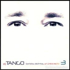 CDs de Música: DJ TANGO - SONIDOS DISTINTOS, UN UNICO ESTILO 3 - 2 CDS. Lote 271399083