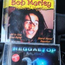 CDs de Música: 2 CD.. BOB MARLEY NATURAL MYSTIC Y REGGAE TOP. Lote 271417063