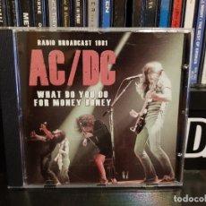 CDs de Musique: AC/DC - WHAT DO YOU DO FOR MONEY HONEY. Lote 271554563
