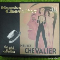 CDs de Música: MAURICE CHEVALIER (THE GOLD COLLECTION) 2 CD'S 1998. Lote 271560263