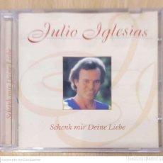 CDs de Música: JULIO IGLESIAS (SCHENK MIR DEINE LIEBE - DAME TU AMOR) CD 1997 ALEMANIA. Lote 271565623