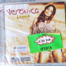 CDs de Música: CD VERONICA, LLUVIA, PRECINTADO. Lote 271570038