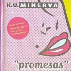 CDs de Música: CD K.U MINERVA PROMESAS CON 12 TEMAS AQUITIENESLOQUEBUSCA ALMERIA. Lote 271594453